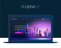 Web design Homepage for showroom in New York