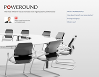 Poweround website