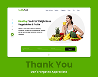 Healthy Food Guide redesign Mock up free Download