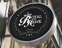 Royal Hawk Wax Logotype