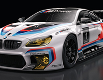 BMW M6 GT3 Studio Shoots SET2