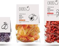 Chiri/ web design, packaging
