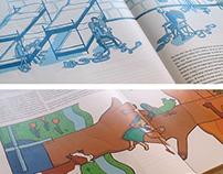 Editorial illustrations for LAVA