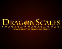 Video Game Logo: Dragon Scales