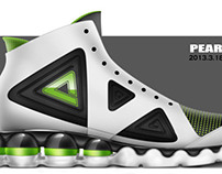 Peak basketball shoe design