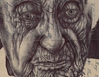 'all things pass but haunting memories' Bic biro