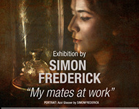 MyMates@Work an Exhibition by SIMONFREDERICK