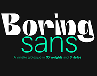 Brutal, Variable and Never Boring - A Zetafonts family!