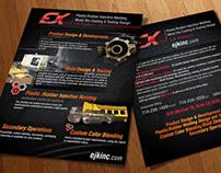 EJK Flyer Design