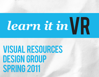 Visual Resources Design Group Fall 2011 Poster