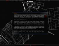 LMA S.r.l. Aerospace Web Site