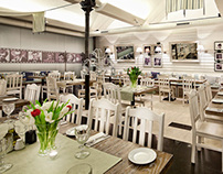 Marcello Restaurant - interior photography