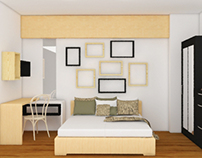 GreenBay - Studio Apartment Design