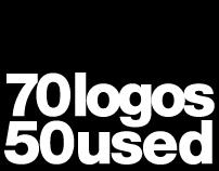 70 logos | 50 used