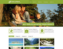 Nature Web Template