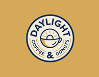 Daylight Coffee & Donuts Branding