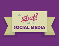 Infographic - A Date With Social Media