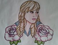 Sailor Schoolgirl Tattoo