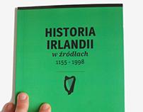 Projekt książki HISTORIA IRLANDII w źródłach 1155-1998