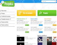 Website Pesquisa