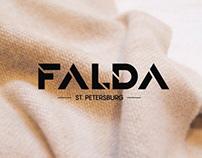 FALDA branding