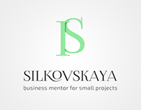 Logotype, site for Irina Silkovskaya