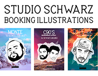 Studio Schwarz Booking Illustrations