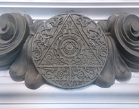 Masonic Cornice Fretwork