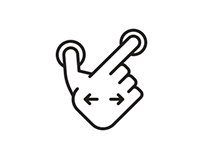 Icons: Touch Gesture