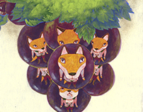 The Fox and the Grapes Picture book of Aesop's fables
