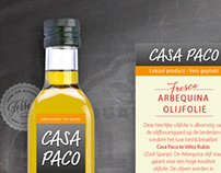 Casa Paco label design