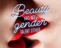 Beauty has no gender