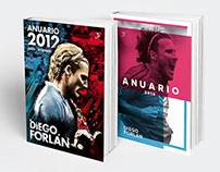Libros Anuarios de Diego Forlán