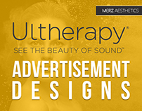 Ultherapy Print Advertisement Design Concepts