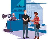 Illustrations for karibusoftware.com