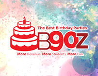 B90Z Birthday Parties for Martial Arts Schools