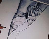 Ballet Slippers Sketch