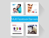 Multi Facebook Banners