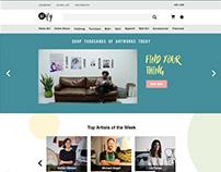 E-Commerce Website - Artify