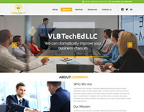 VLBTechLDLLC Website Home page Design
