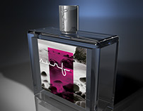 Fragrance branding concept using a photo by we-shoot-it