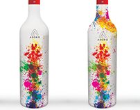 Adoro wine, limited edition sleeve concept
