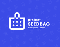 Project SeedBag - Icon design system