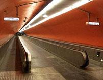 Empty Paris (a tribute to Nicolas Moulin)