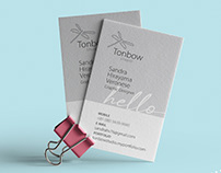 Business Card Tonbow Studio