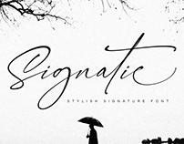 Free Signatie Script Font