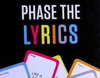 Phase the Lyrics