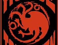 House Targaryen Poster