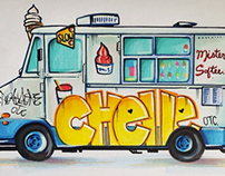 Mister Softee Illustration