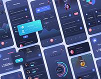 Track and Save Dashboard UI Kit